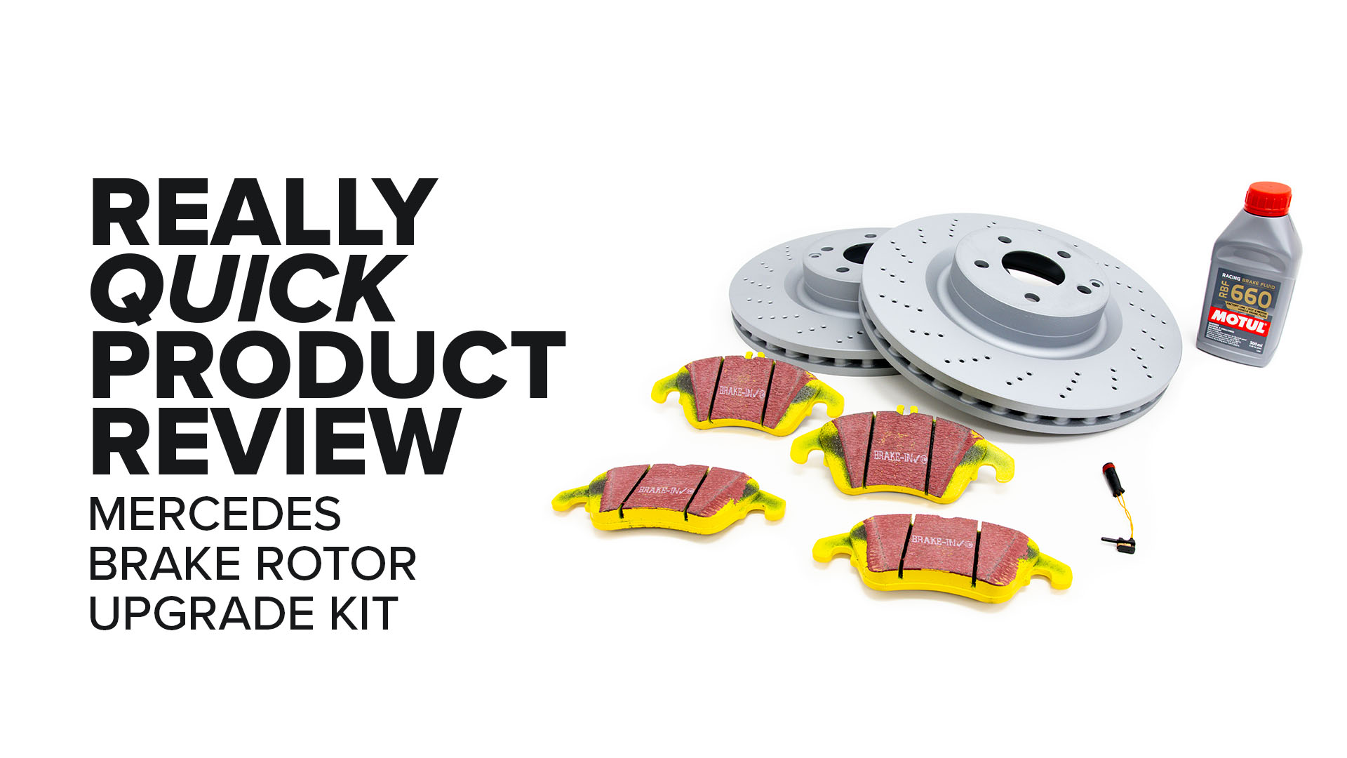 Mercedes-Benz W204 (C250, C300, & E350) Brake Rotor Upgrade Kit - Features And Product Review
