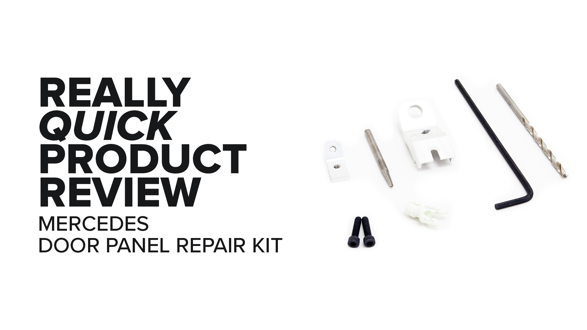 Mercedes-Benz W204 (C300, C350, C250) Door Panel Lever Repair Kit - Features And Product Review
