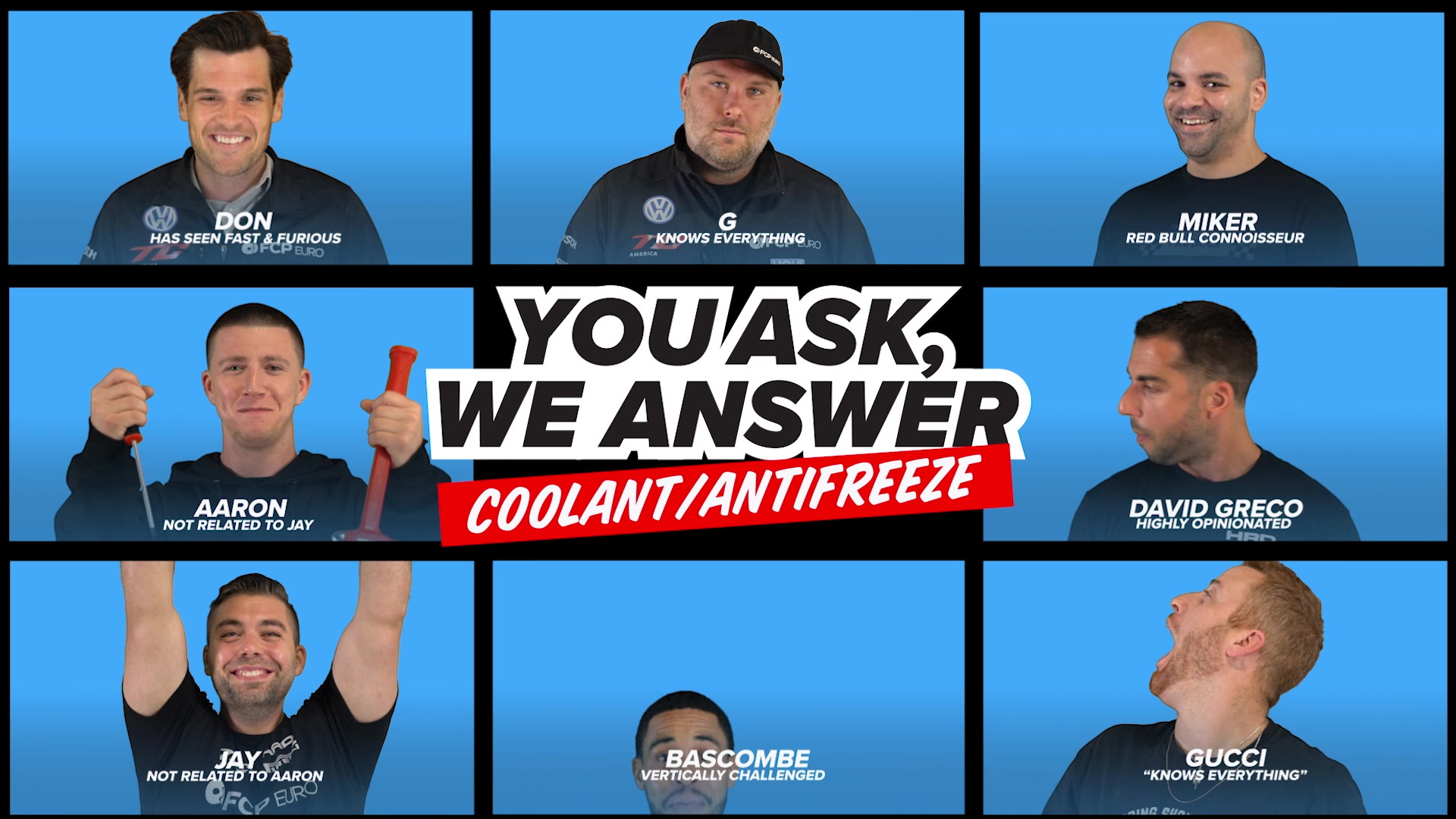 You Had Questions About Coolant/Antifreeze, And We Answered Them