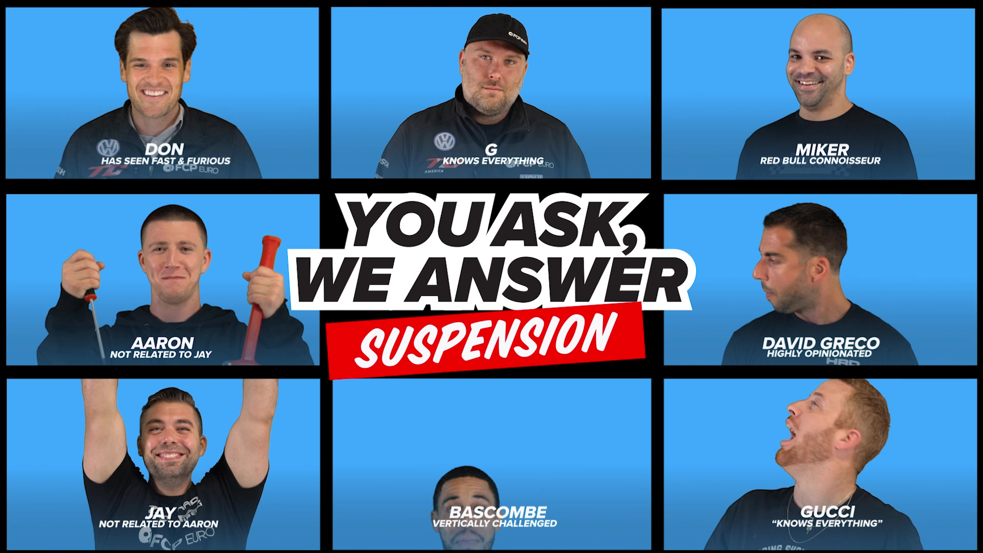 You Had Questions About Suspensions, And We Answered Them