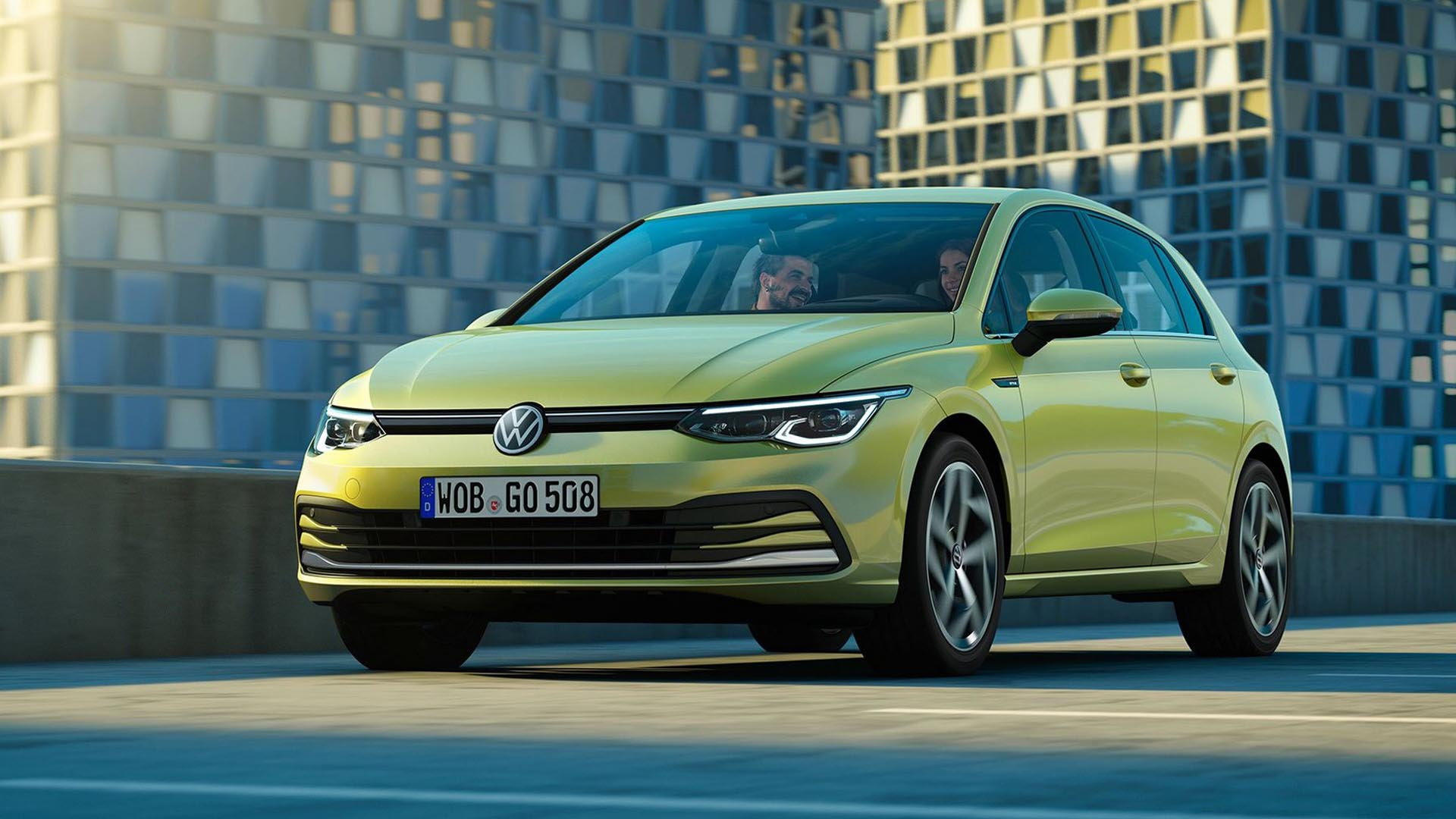 Official Images Of The MK8 Volkswagen Golf Leaked Ahead Of Today's Unveil