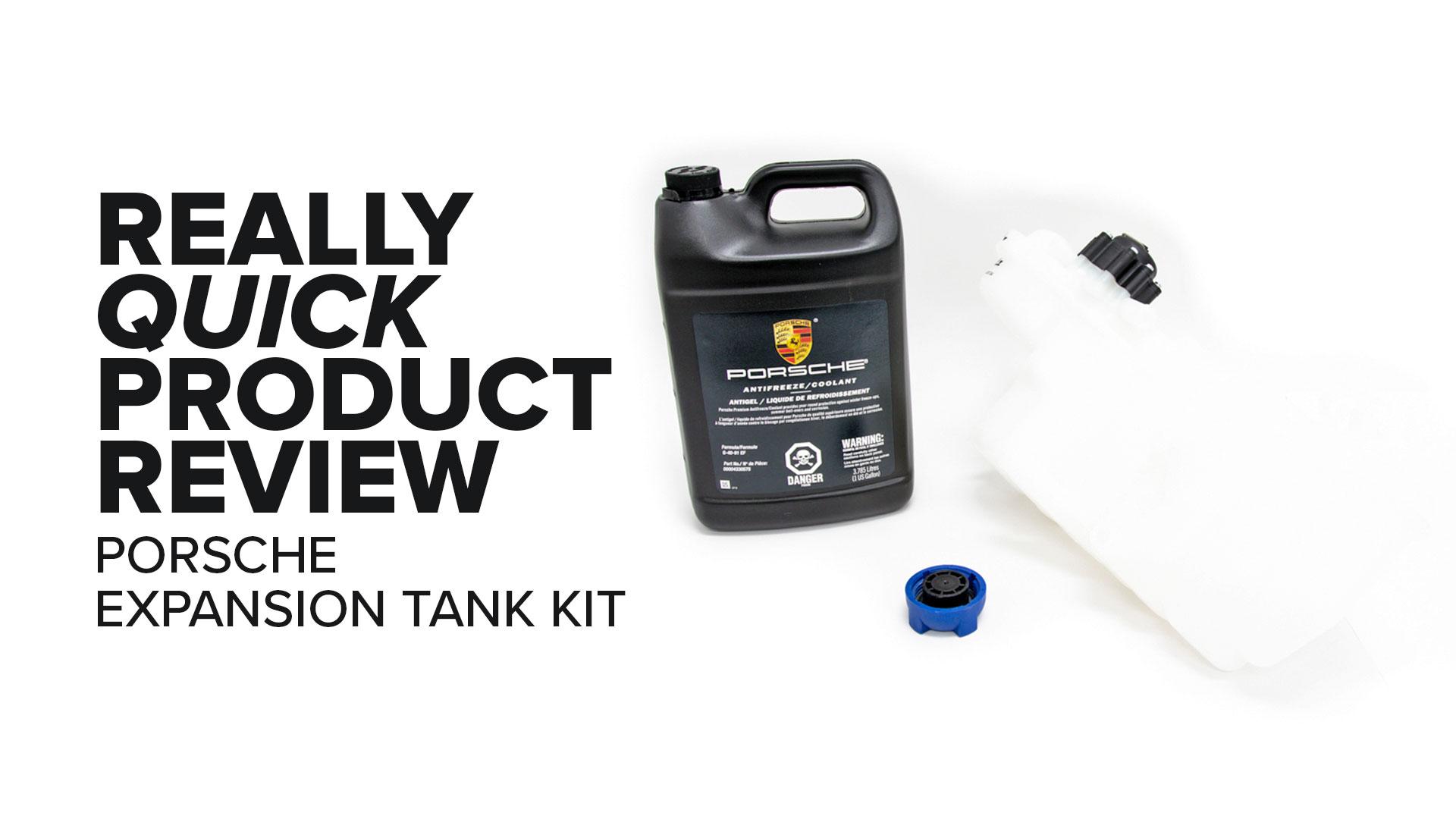 Porsche 996 911 Coolant Expansion Tank Kit - Symptoms And Product Review