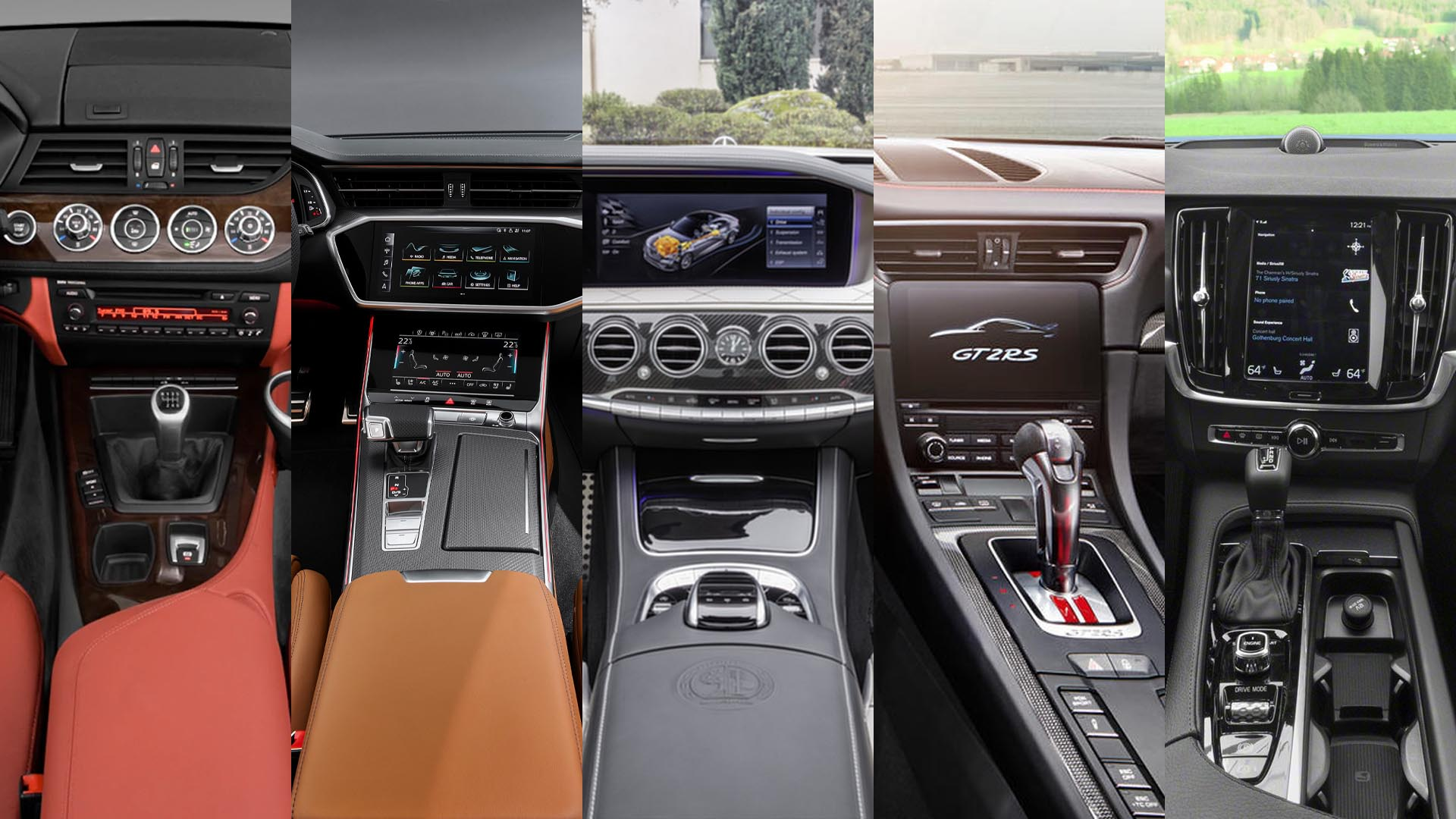 Our Top 5 Favorite Car Interiors Of The Decade