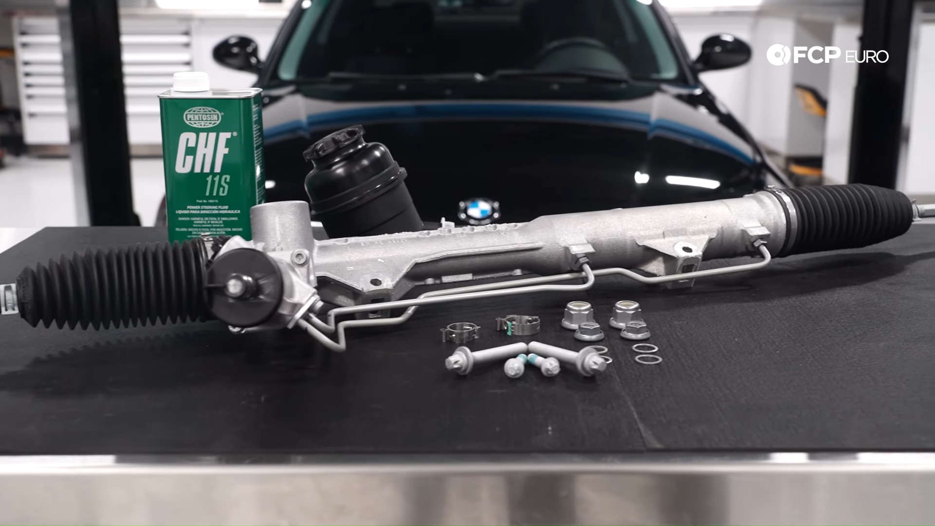 BOSCH Disc Brake Pads Accessory Kit SET Fits BMW X1 Z4 E92 E91 E90 E60 2001