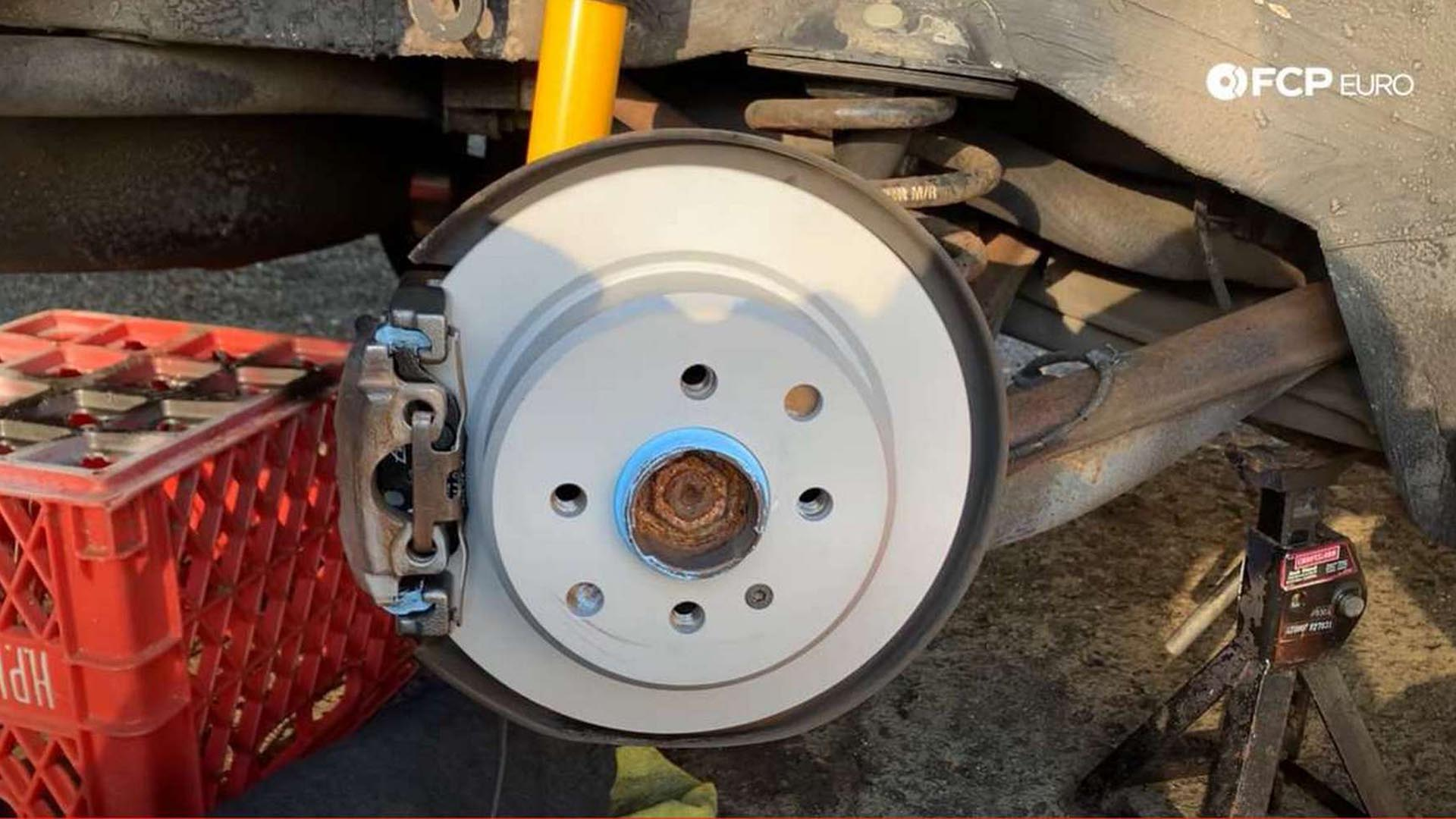 How To Replace The Rear Brake Pads And Rotors On A BMW E30