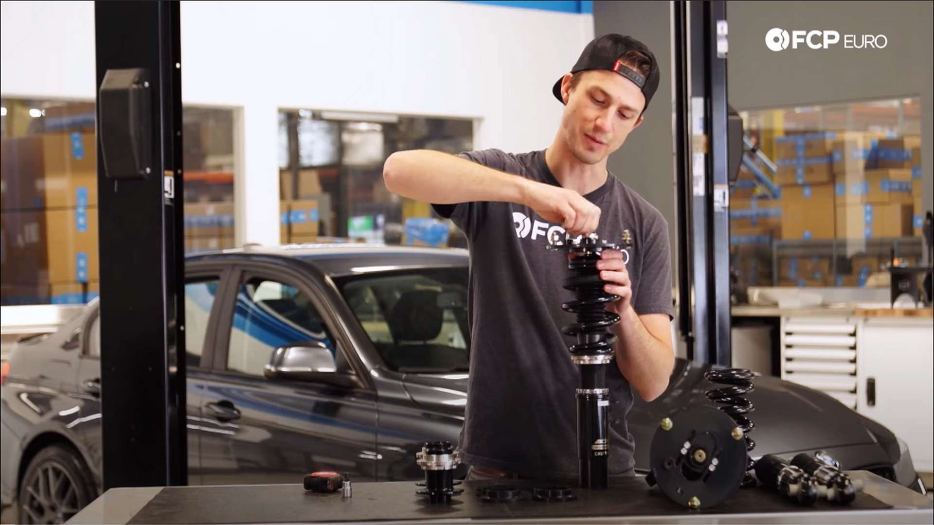 How To Install Coilovers On A BMW F30 (328i, 330i, 335i, & More)