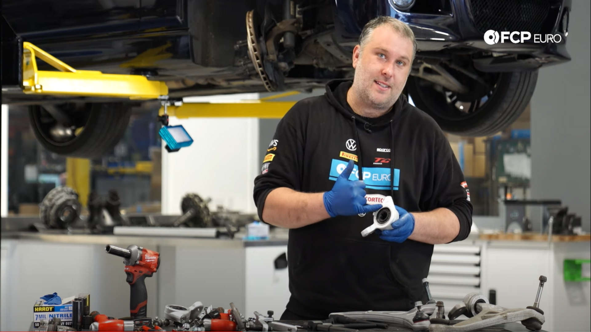 How To Replace the Control Arms, Bushings, Ball Joints, Tie Rods, & End Links On A BMW E46 M3