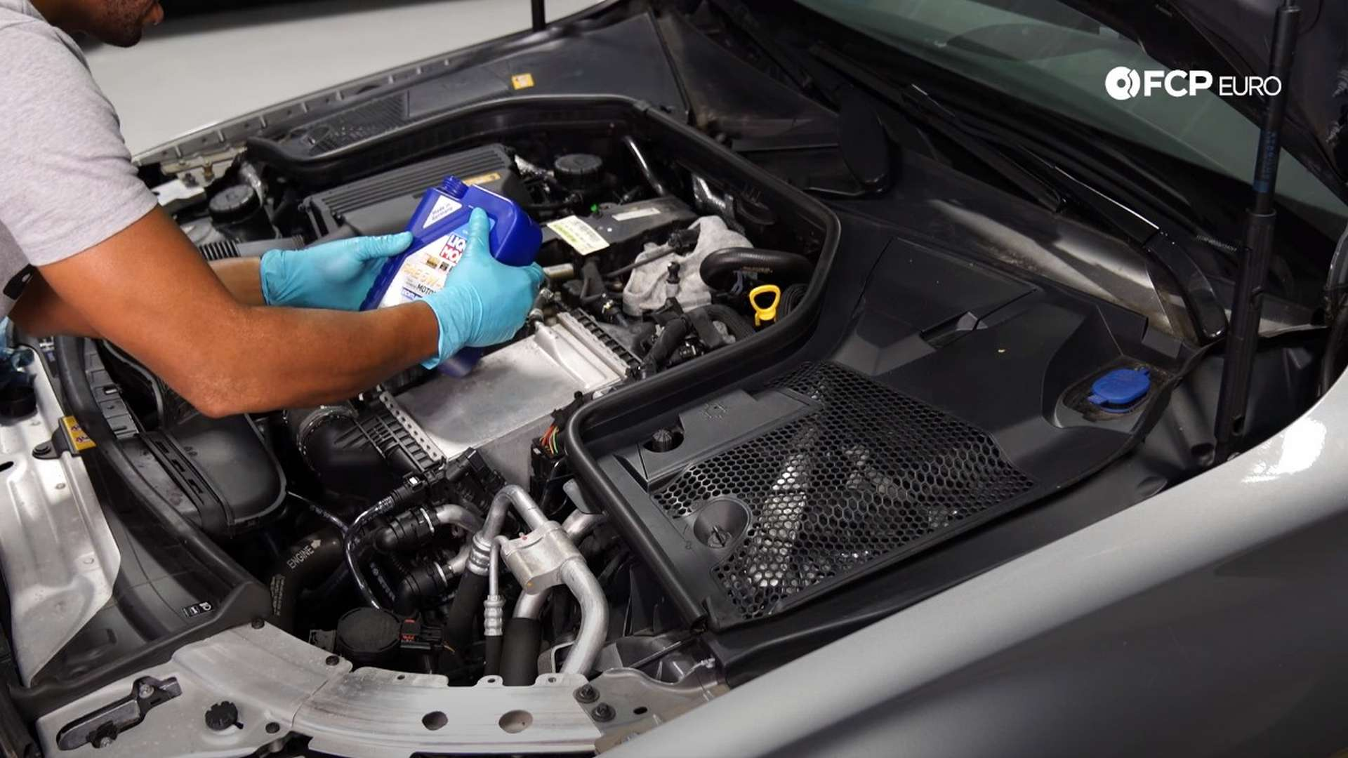 How To Change The Oil On a Mercedes C300 (M274 Engine)