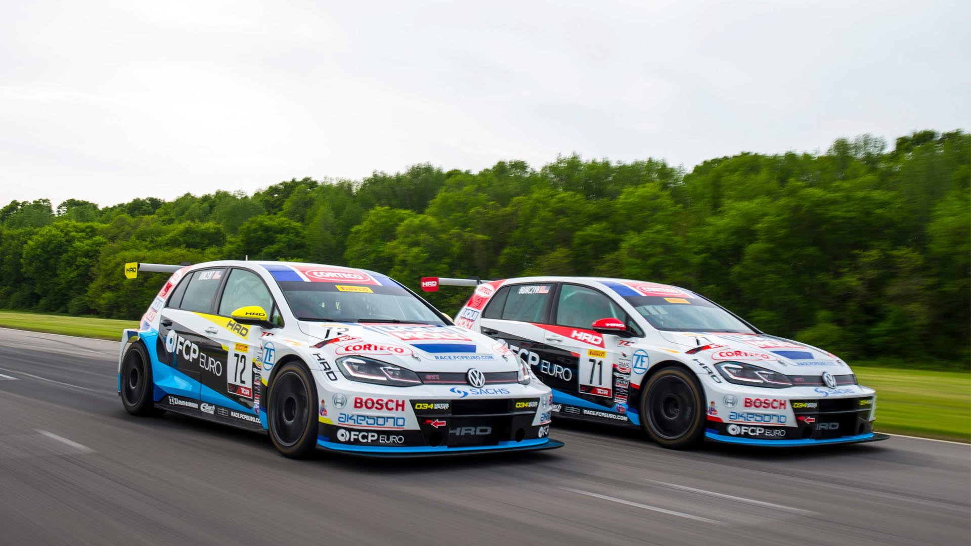 For Sale: Two Championship-Winning VW GTI TCRs