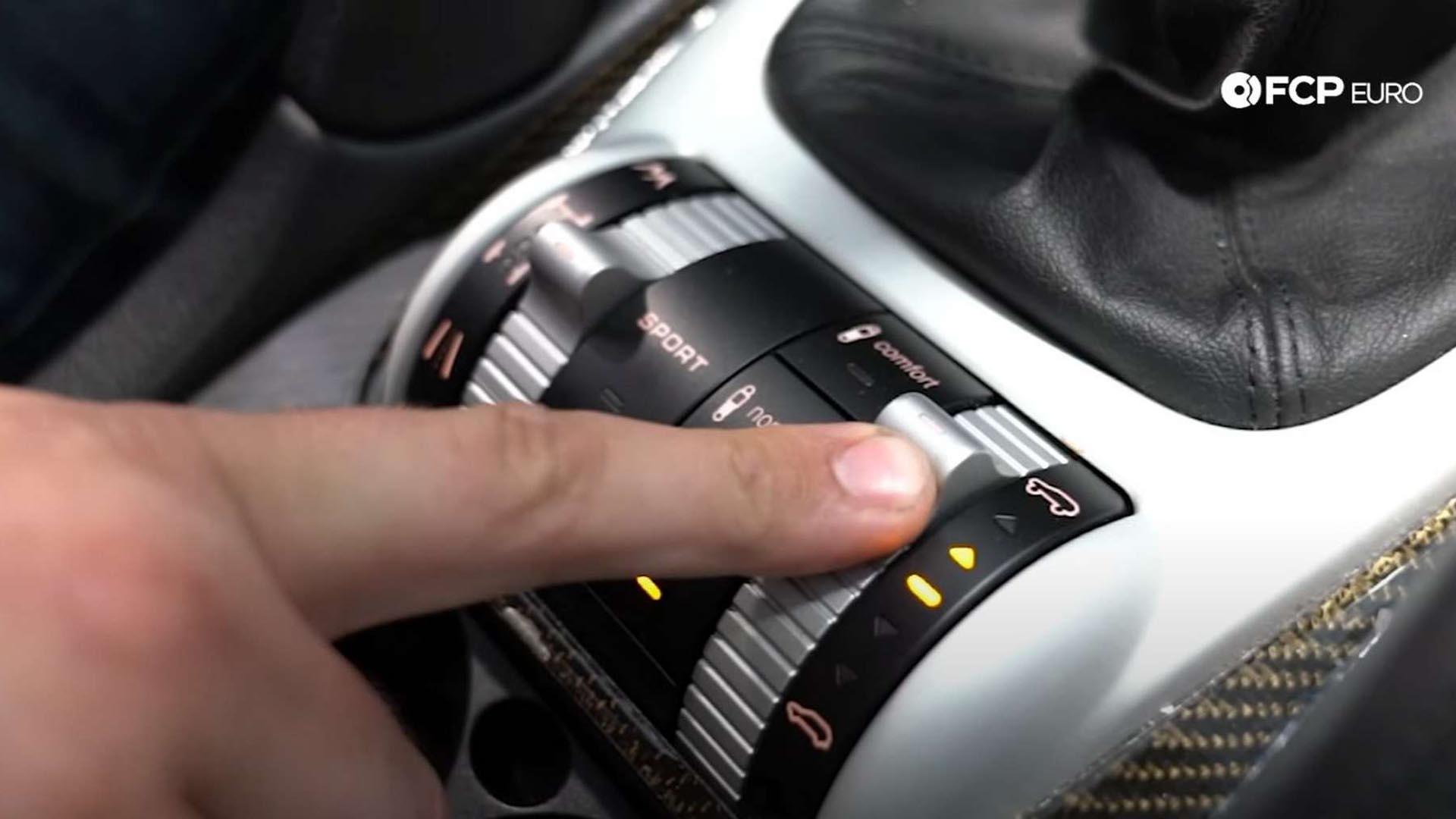 How To Put A Porsche Cayenne Into Jack Mode (955/957)
