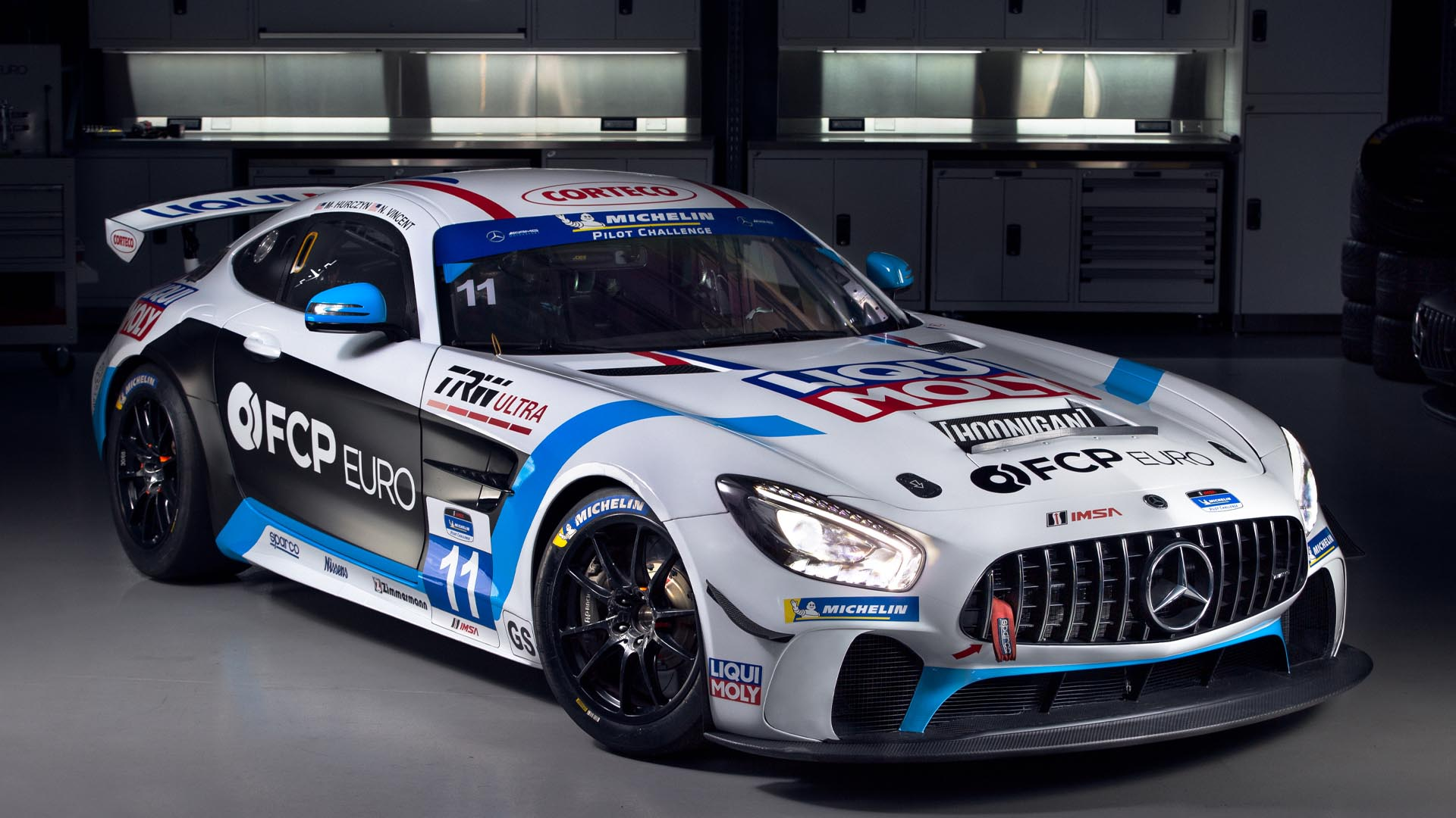 FCP Euro's New Biturbo 510HP V8 Race Car