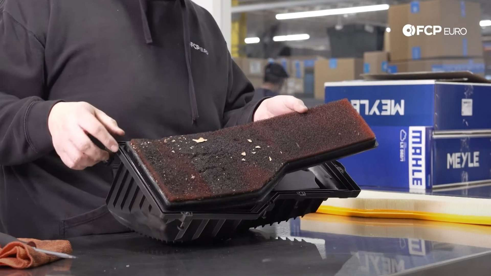 How To Replace A Porsche 996 & 997 Engine Air Filter