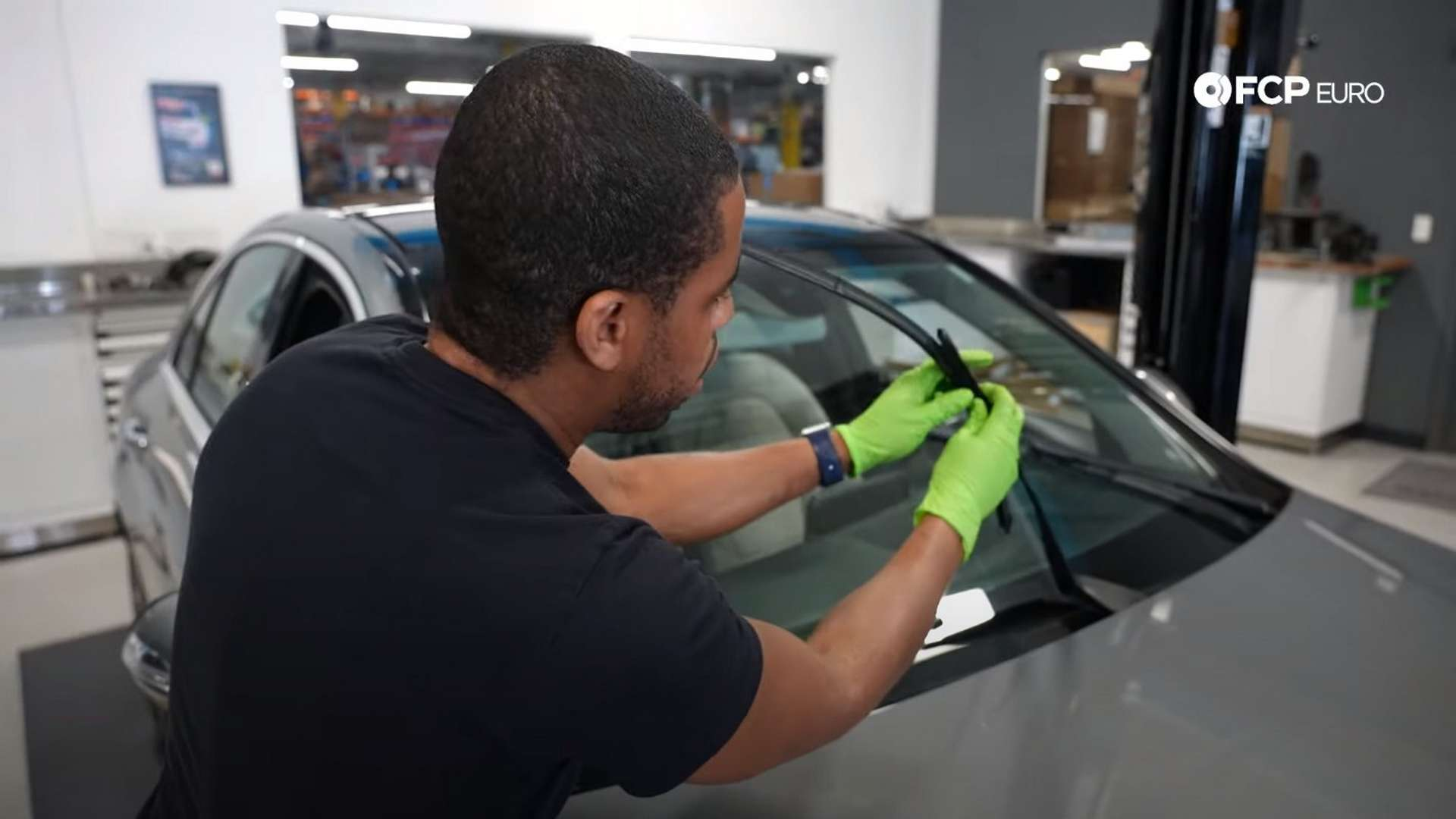 How To Replace Mercedes-Benz W205 Windshield Wiper Blades (C300 & C43 AMG)