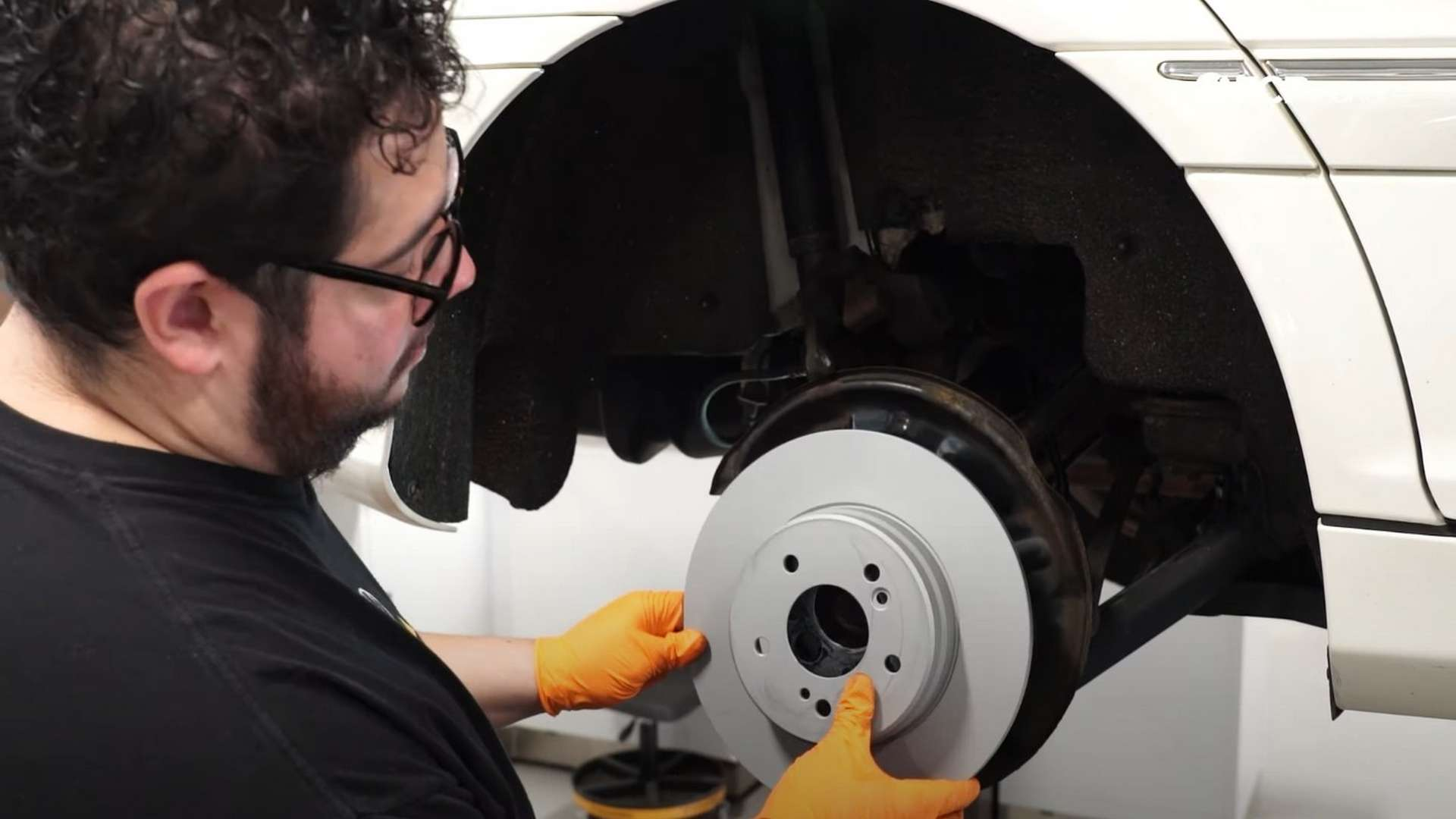 How To Replace Mercedes-Benz W203 Rear Brake Pads & Rotors (C230, C320, CLK430, E300)