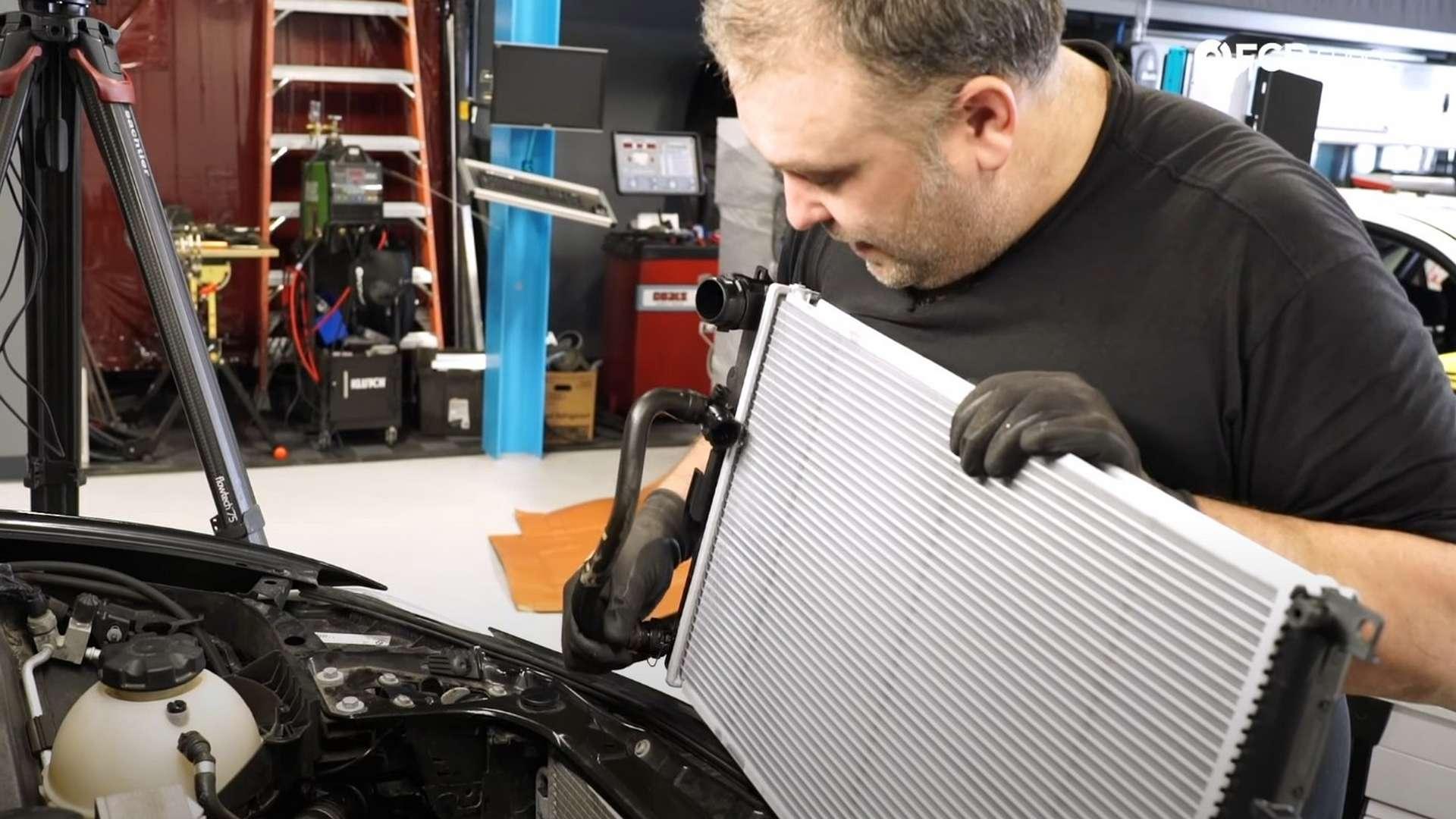 How To Replace A BMW F30 Radiator (BMW N20 & N26 Engine)