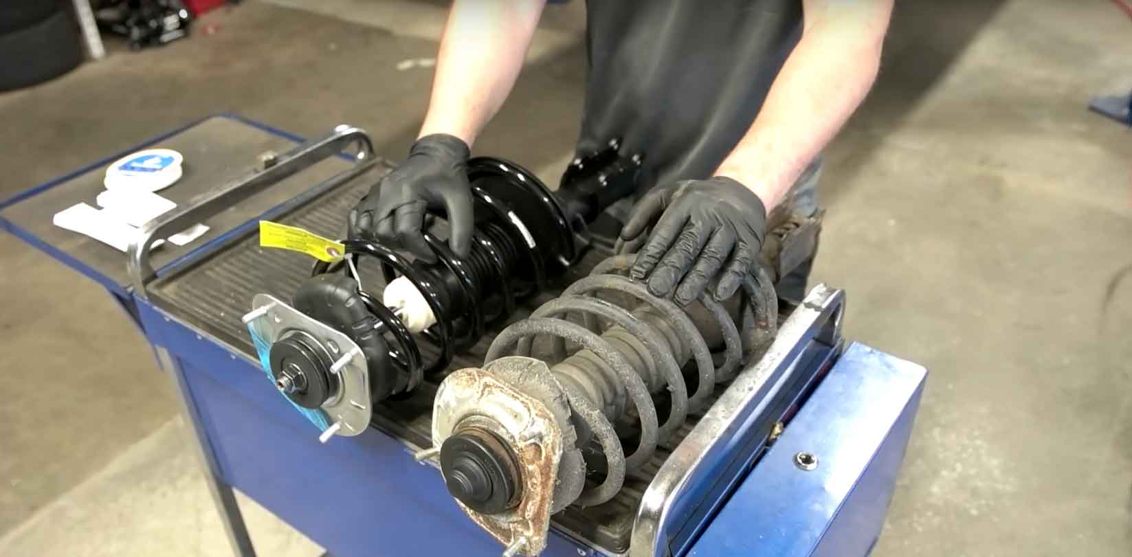 How To Install Sachs Front Quick Struts On A P2 Chassis Volvo