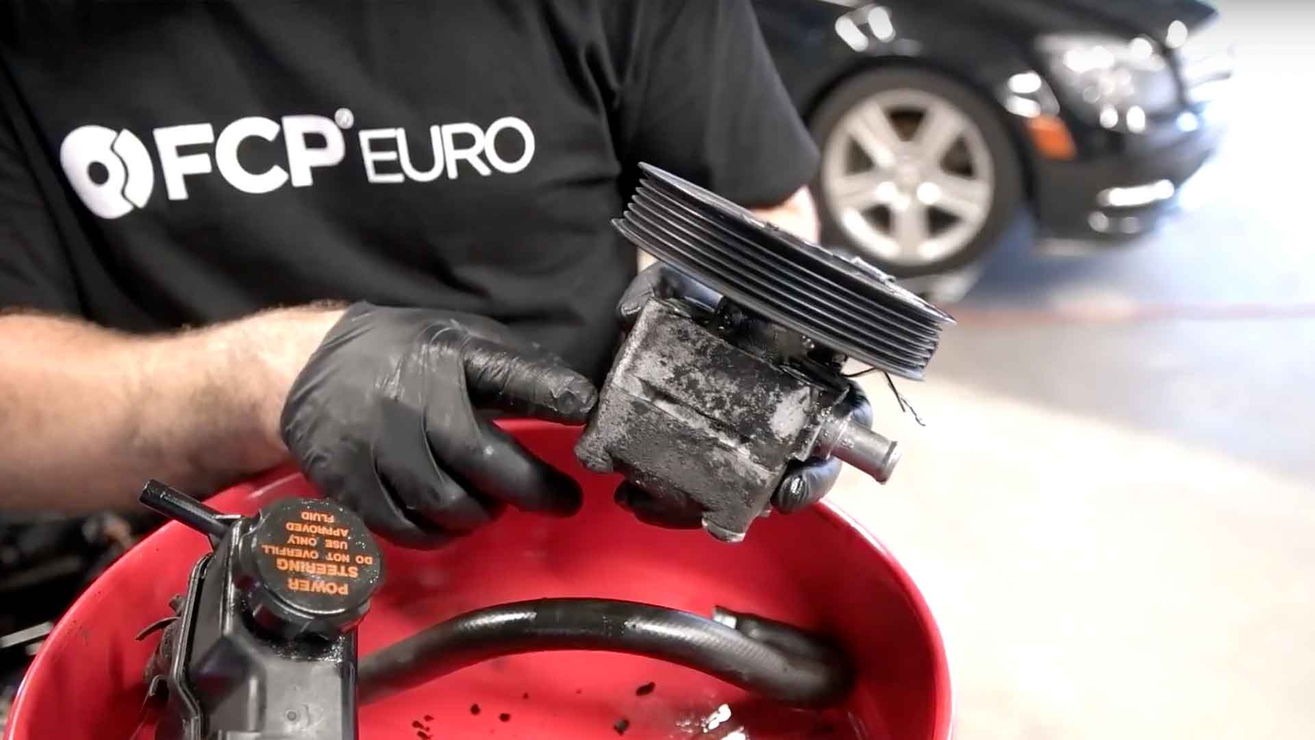 How To Replace The Power Steering Pump On A Volvo S60