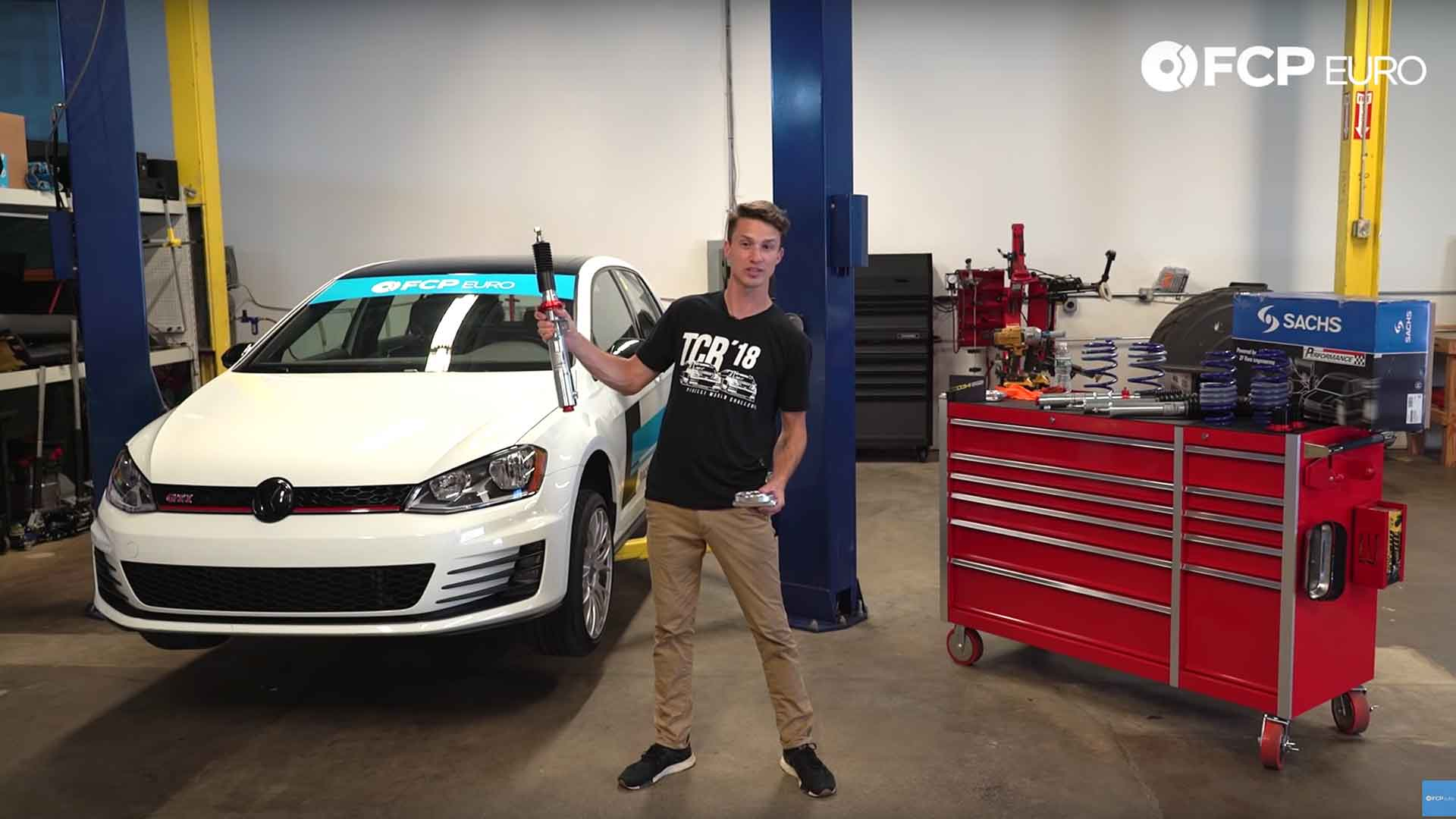 How To Install An Audi/VW Coilover Kit - SACHS Performance (GTI, Golf R, S3, A3, A3 Quattro)