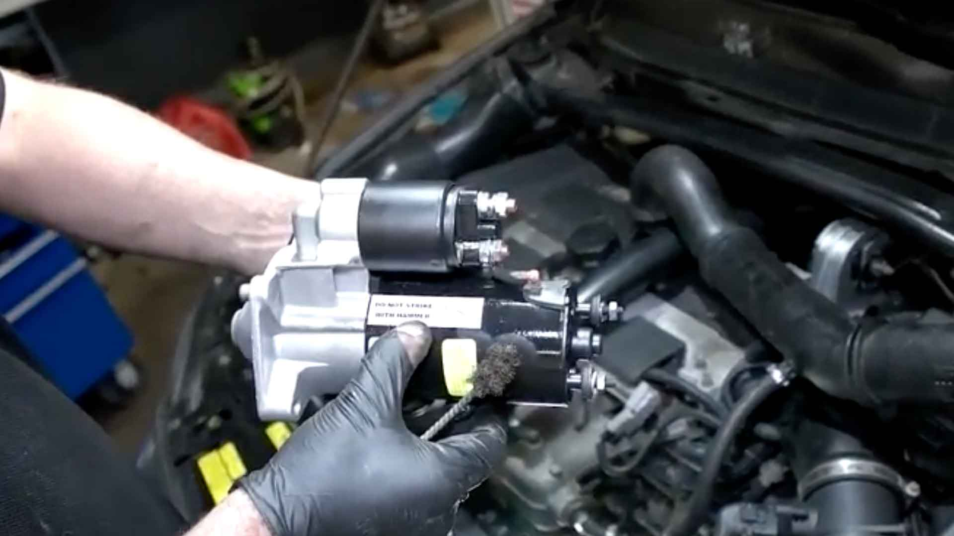 How To Replace The Starter On A Volvo S60