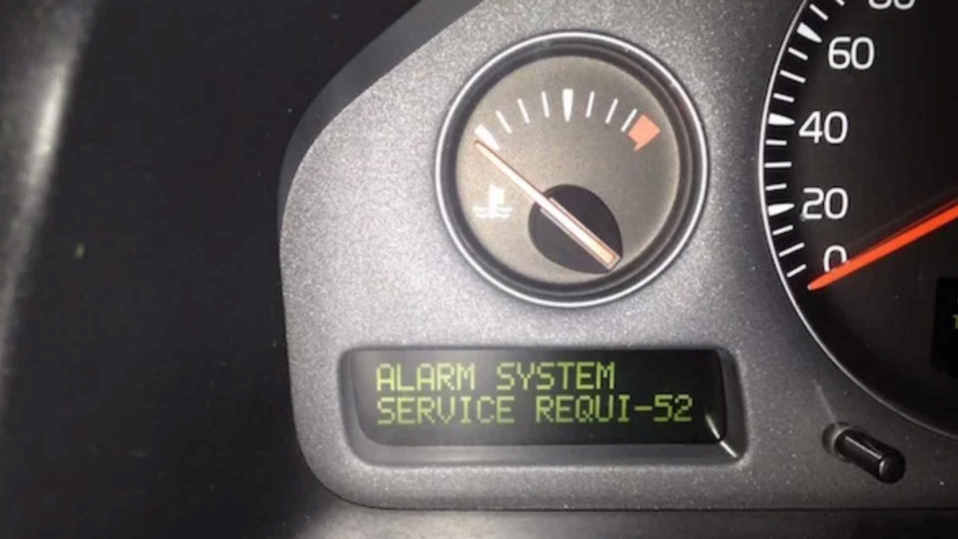 How To Fix The Volvo 'Alarm System Service Required' Message (Volvo P2 S60, S80, & V70)