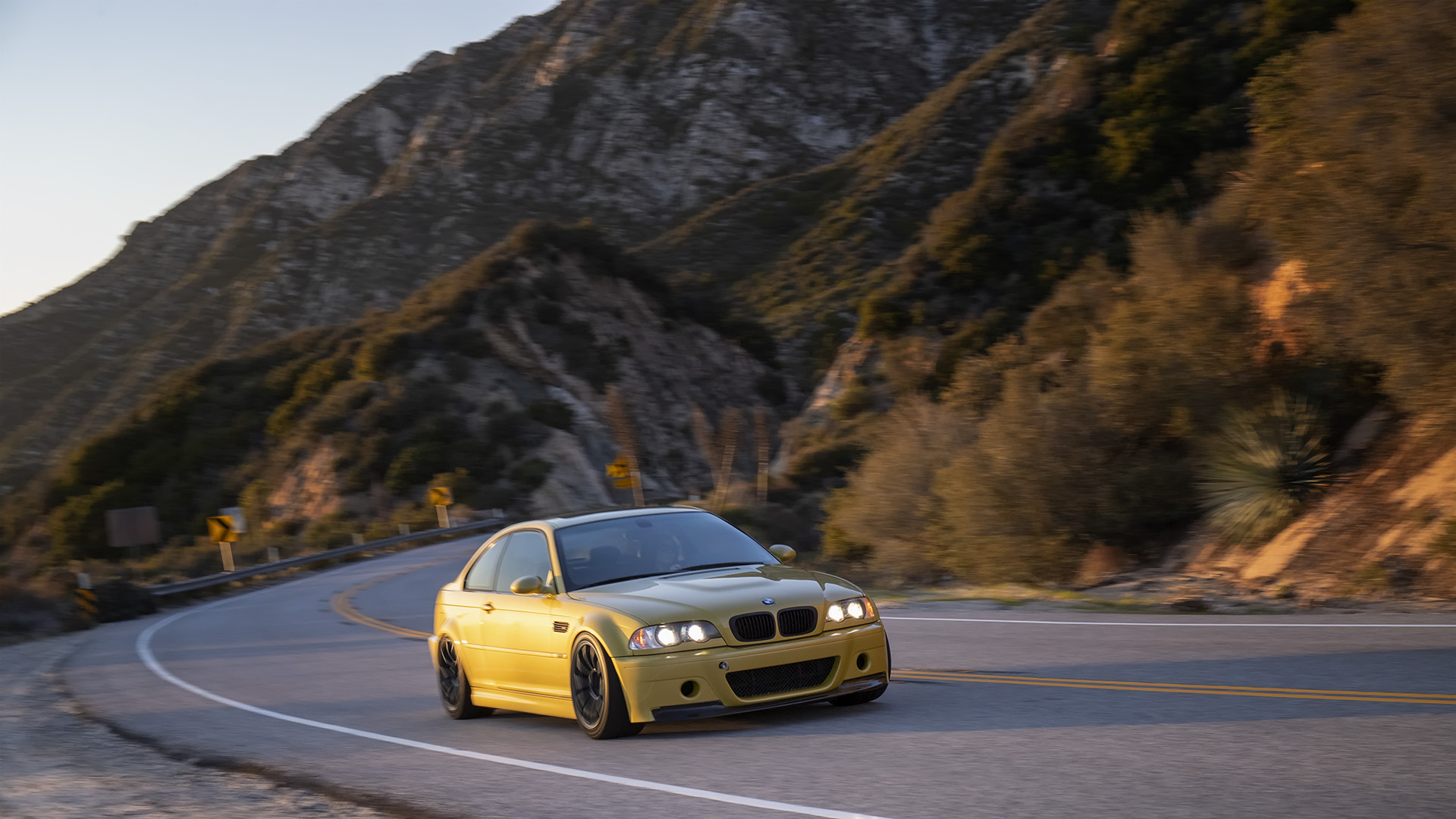 Performance Is The Priority - Phoenix Yellow BMW E46 M3