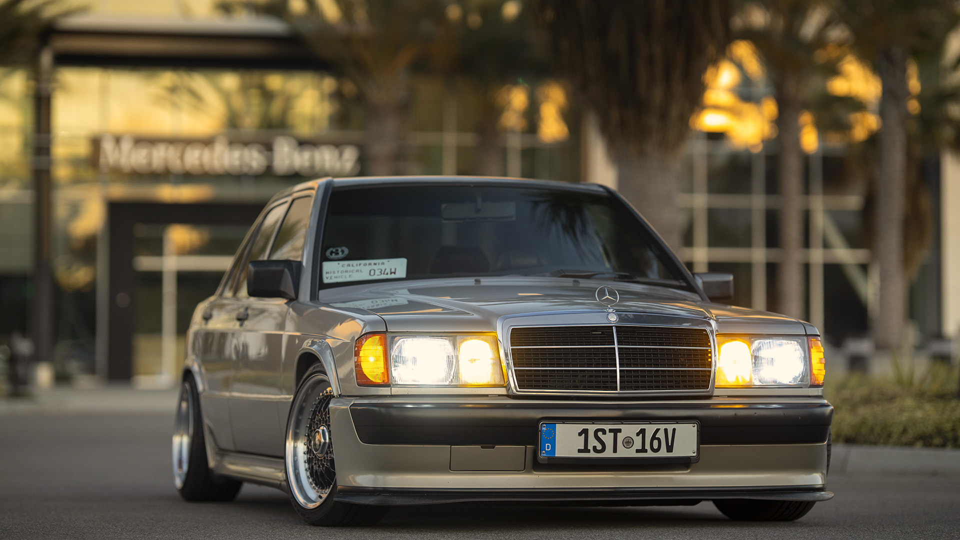 The First Mercedes-Benz 190E 2.3 16 Valve Cosworth In The USA