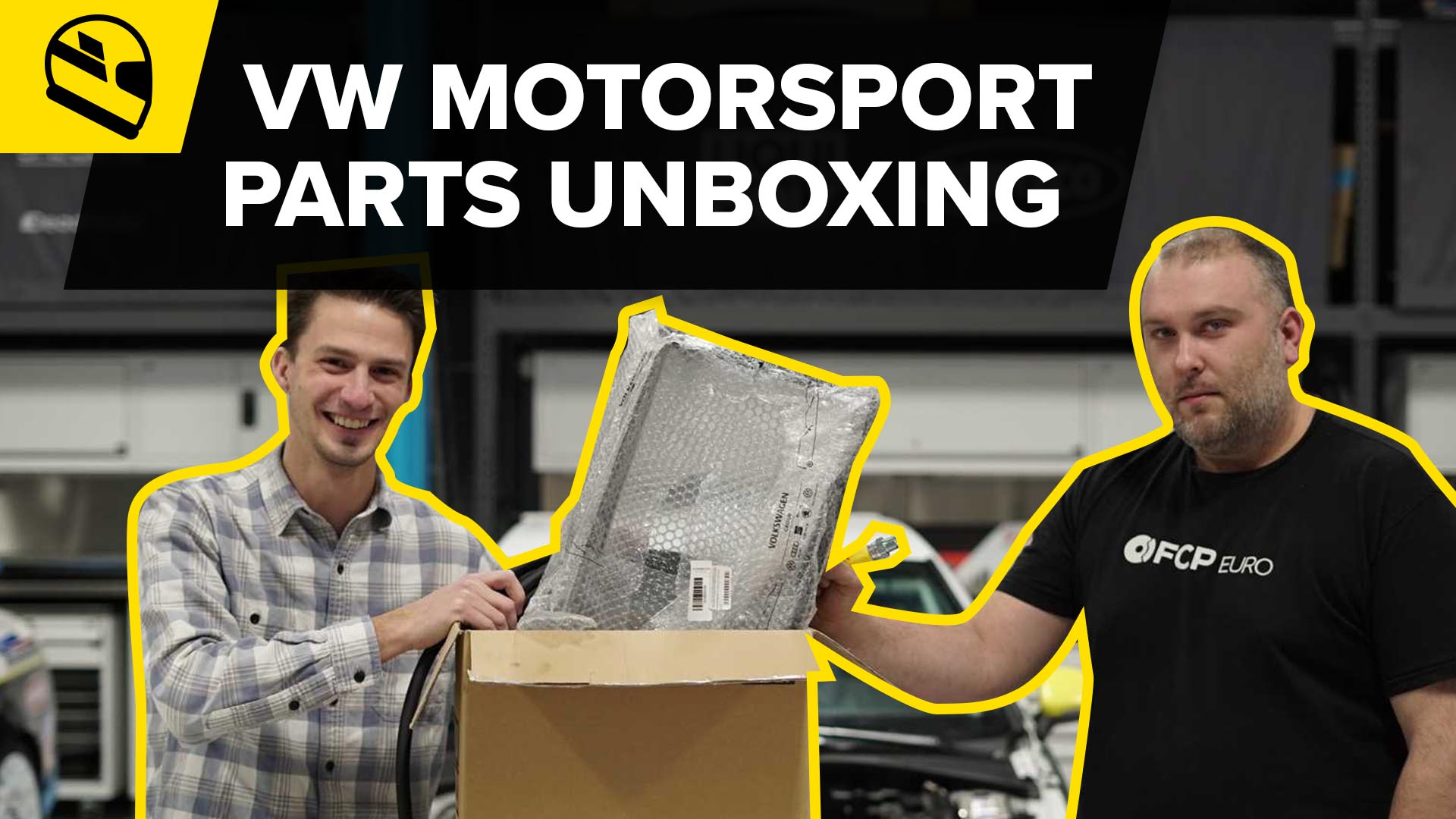 Motorsport Mondays - Volkswagen Motorsport Parts Unboxing