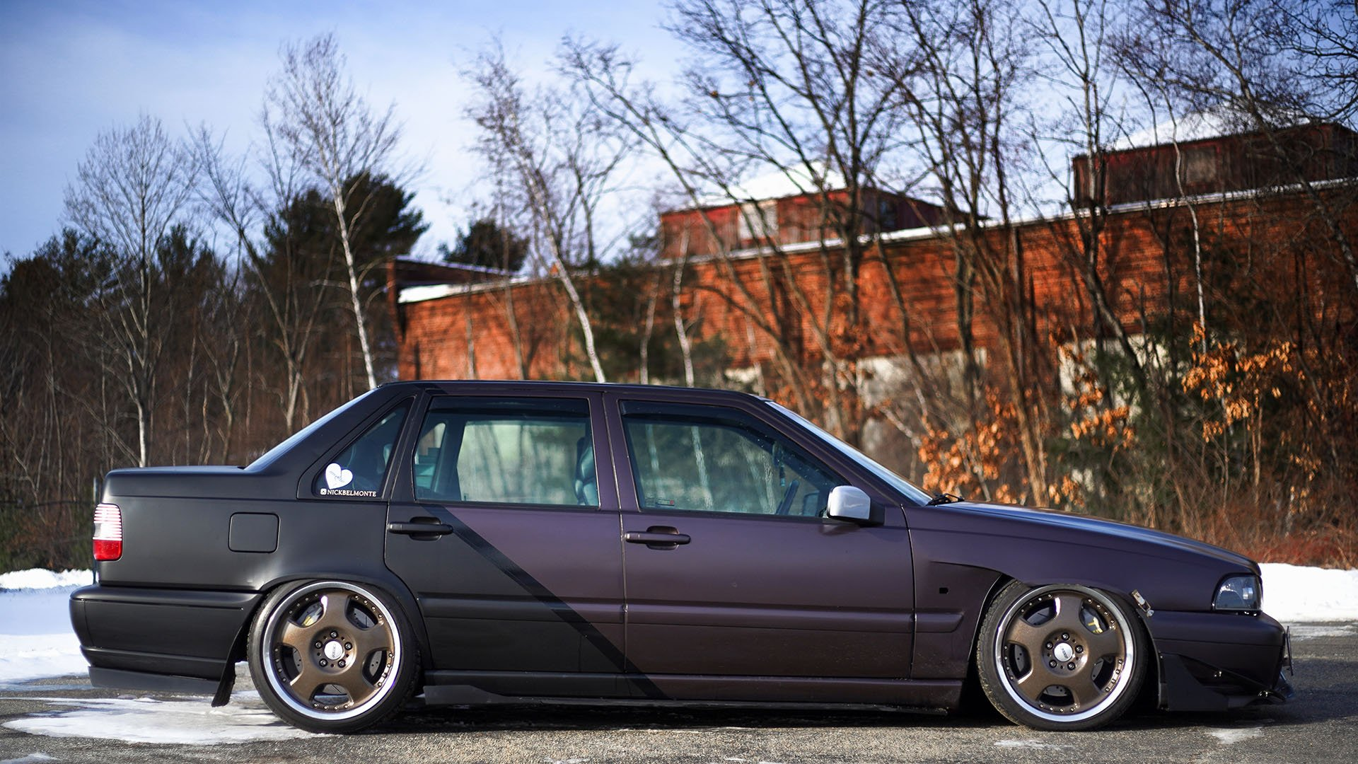 Breaking Through Stereotypes - Built And Boosted Volvo S70 T5M