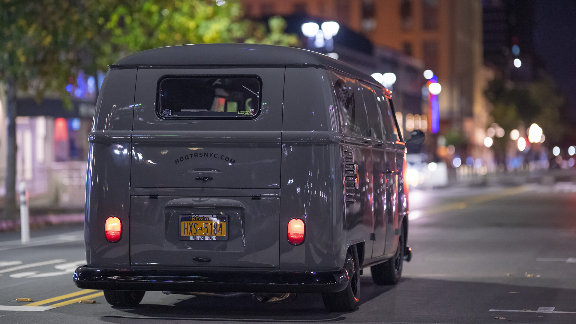 Started From The Bottom - HDQTRS NYC Volkswagen Bus