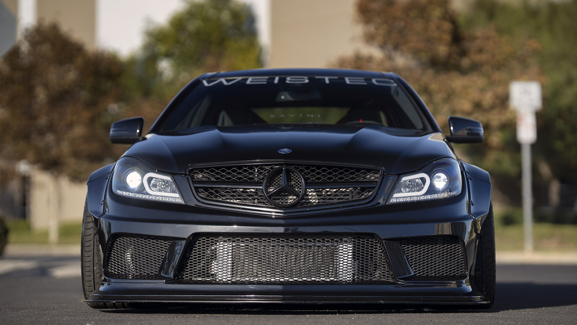 Give Me Liberty Or Give Me Death - Weistec Supercharged Mercedes-AMG C63