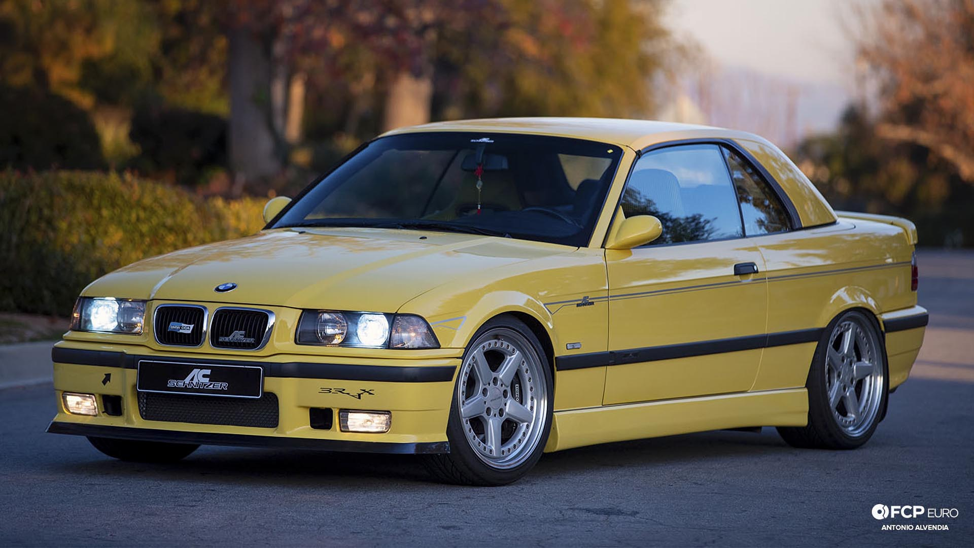 Ac Schnitzer E36 S3 Sport M3 Convertible With Dinan Supercharger