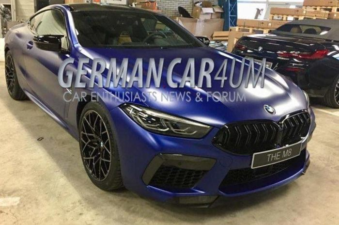 Leaked BMW M8 Images Reveal Questionable Styling Will Cloak A Powerful Platform