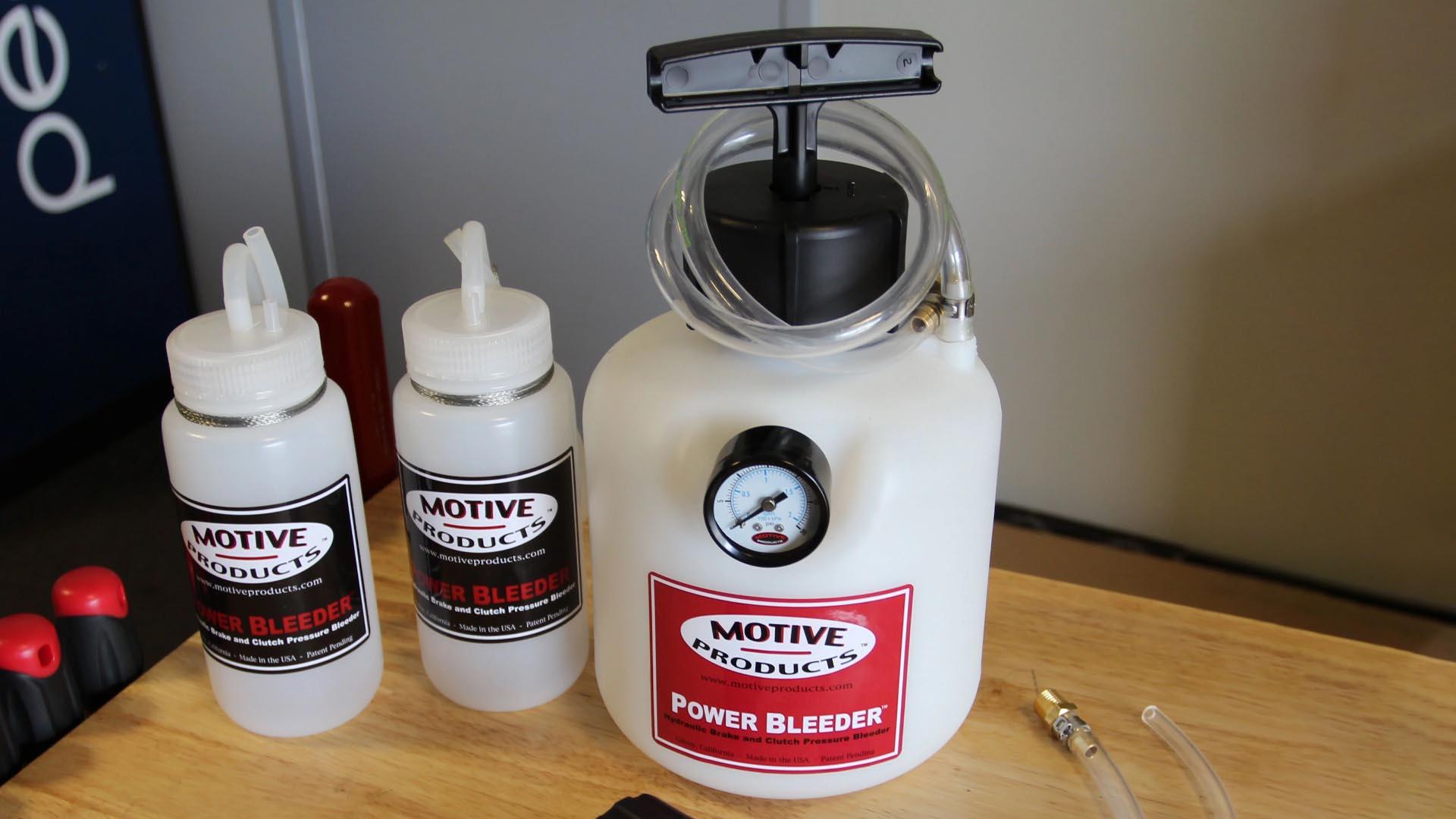 How To Bleed Brakes Using A Motive Power Brake Bleeder
